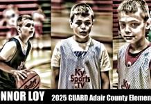 Adair County Elementary School basketball