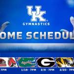 UK Gymnastics Releases 2018 Schedule