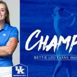 University of Kentucky Golf 2017
