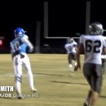 Dalvin Smith Hurdles Defender For Long TD vs Monroe Co in Football Playoffs