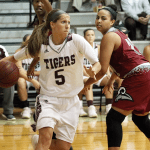 No. 3 Campbellsville WBB leads wire-to-wire in 77-48 victory over Mobile on Friday night