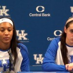 UK WBB Maci Morris Post Game after 63-87 Loss to Louisville