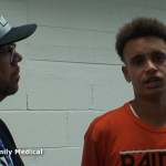 Hart County HS Basketball's Braydon Bell Talks with Trevent Hayes