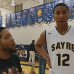 RJ Smith of Sayre HS Basketball with Lee G