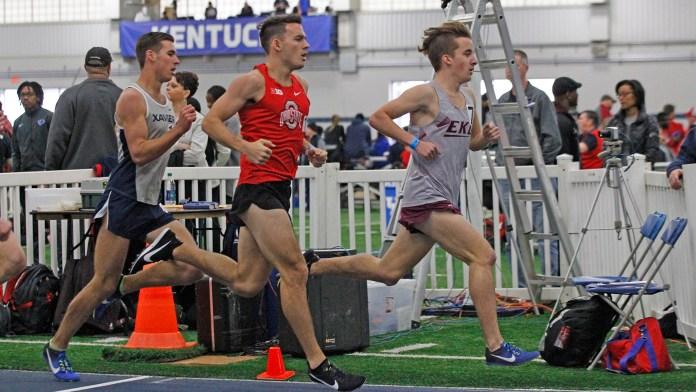 Eastern Kentucky University track & field 2018