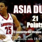 Durr named espnW, ACC Player of the Week; Louisville moves up to No. 2 in AP Poll
