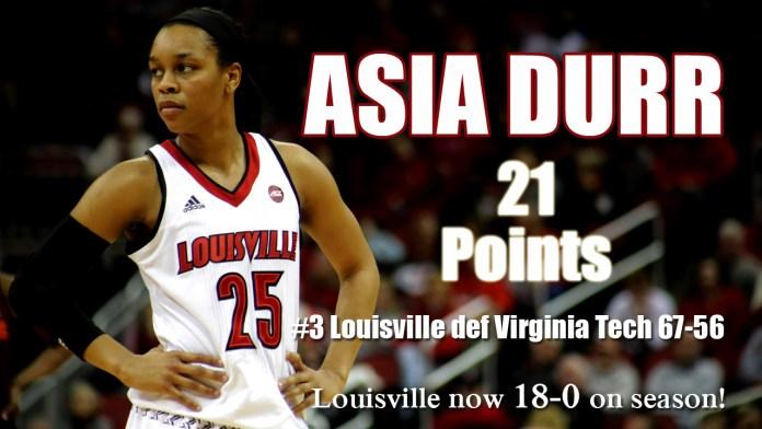 University of Louisville Womens basketball 2017-18