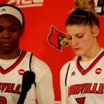 UL WBB Myisha Hines-Allen & Sam Fuehring on WIN vs Duke & 17-0 Record