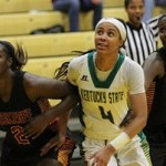 Depth Helps Kentucky State WBB Take Down Tuskegee University 59-55