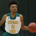 Kentucky State MBB Croon Tabbed as Conference Newcomer of the Week