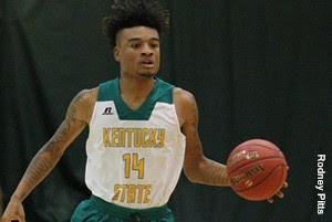 Kentucky State University mens basketball 2017-18