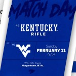 No. 3 UK Rifle Faces No. 1 West Virginia for Regular Season Conference Crown