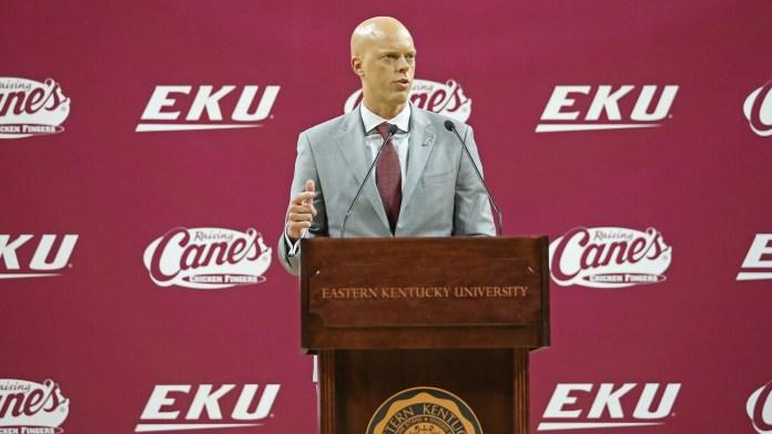 Eastern Kentucky University mens basketball
