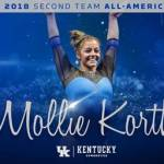 UK Gymnastics' Mollie Korth Named 2018 Regular Season All-America