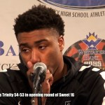 Trinity HS Basketball Presser vs Scott County in 2018 Sweet 16