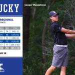 Musselman Surges as Kentucky Golf Moves into Seventh