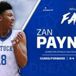 Zan Payne Joins UK Men's Basketball Program