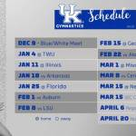 UK Gymnastics Releases 2019 Schedule