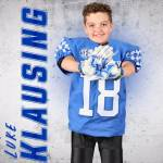 Eleven-year old Luke Klausing Signs with Kentucky Football