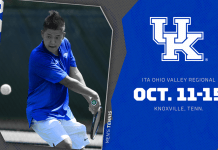 University of Kentucky Wildcats Mens Tennis