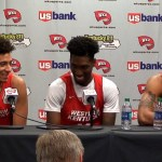 WKU Hilltoppers MBB Media Day 2018 – Hollingsworth, Savage & Murray