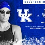 UK Swim & Dive: Three Fit for USA Swimming Nationals, Brown Represents Kentucky at SEC Career Tour