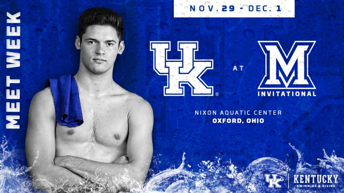 University of kentucky swim and dive