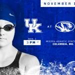 Kentucky Swim & Dive Targets Improvement to Start November Schedule