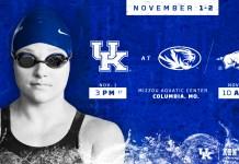 University of Kentucky Swim and dive 2019