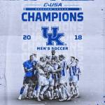 #3 Kentucky Men's Soccer Wins C-USA with 3-0 #DecisionDay Result