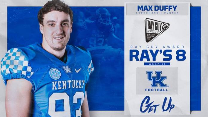 University of Kentucky football 2018