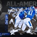 Kentucky Football's Josh Allen Named First-Team All-America by Sporting News