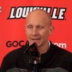 UofL Basketball Coach Mack Previews Central Arkansas