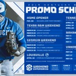 Kentucky Baseball Announces 2019 Promotions Schedule