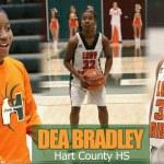 7th Grader Dea Bradley GETS BUSY in Varsity Game vs Larue County