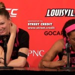 #2 Louisville WBB Kylee Shook & Asia Durr on LOSS to #20 Miami