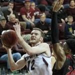No. 24 Lewis nips Bellarmine MBB in final seconds to pull out 63-62 win