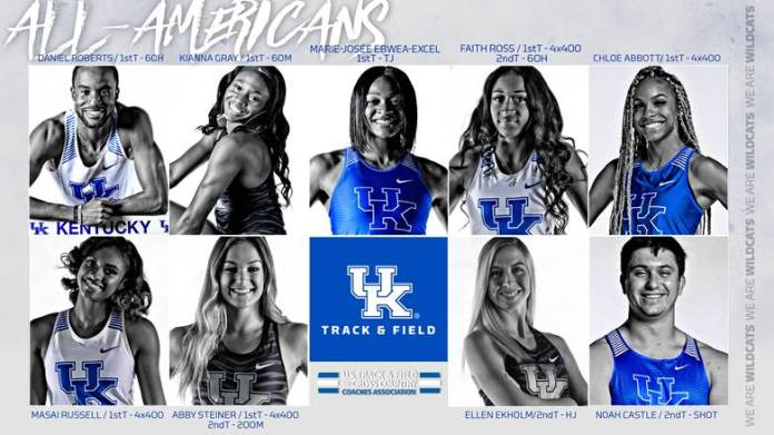 University of Kentucky track & field 2019