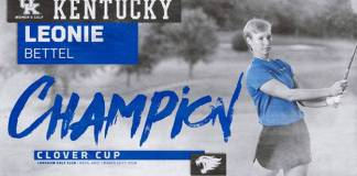 University of Kentucky womens golf 2019