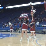 Knott County Central HS Girls 2019 Sweet 16 In-Game Cheer Competition