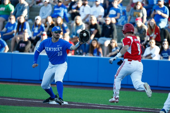 University of Kentucky basebal vs Louisville 2019