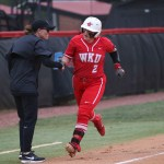 SMITH'S 4-RBI DAY, AIKEY'S ONE-HITTER LEAD TOPS TO SERIES WIN OVER NORTH TEXAS