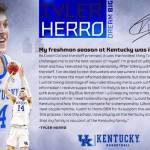 UK MBB's Herro to Declare for 2019 NBA Draft; Eligible to Return to UK