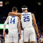UK MBB's Herro and Washington Add USBWA All-District IV Team Honors