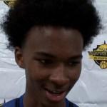 Louisville Defenders AAU Basketball Coreon Scrivener at Vette City Shootout