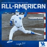 Kentucky Baseball's Zack Thompson Named Second-Team All-America by Perfect Game
