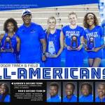 UK Track & Field Has 23 All-America Honors Outdoors