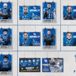 Kentucky Football Schedule Posters, Presented by Kroger, Unveiled