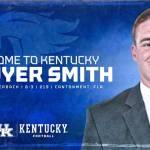 Quarterback Sawyer Smith Transfers to Kentucky