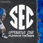 UK Football's Landon Young Earns SEC Player of the Week Honors